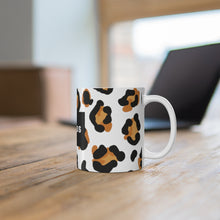 Load image into Gallery viewer, Fearless Leopard Print Mug