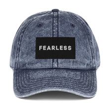 Load image into Gallery viewer, Fearless Christian Vintage Cotton Twill Baseball Cap