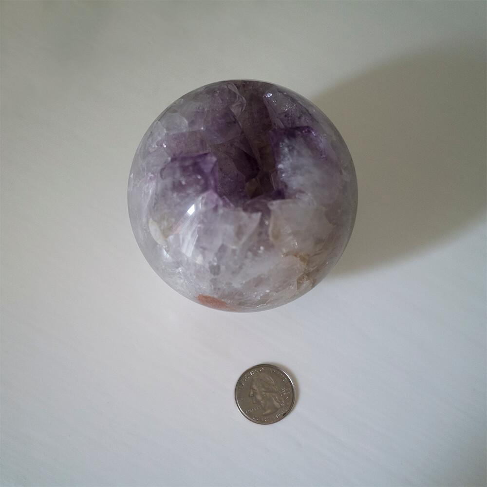 Amethyst Partial Sphere