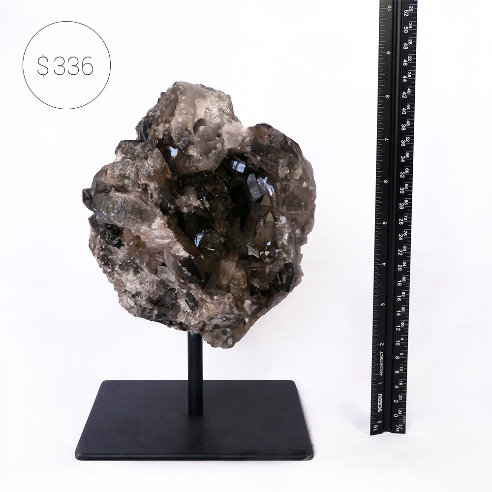 Smoky Quartz on Stand