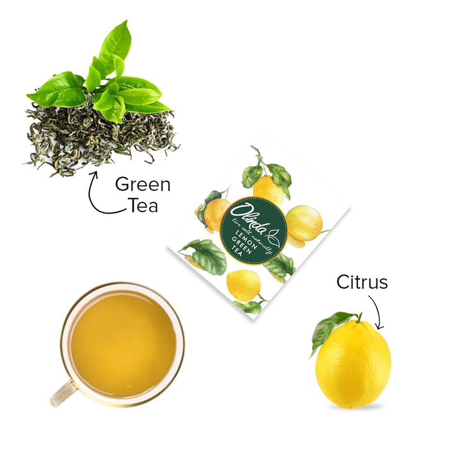 Lemon Green Tea (28 Tea Bags)
