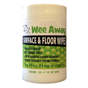 Wee Away Surface and Floor Wipes