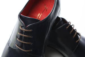 Shoes 100% Leather Giannetos Blue Black