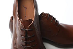 Shoes 100% Leather Koniak