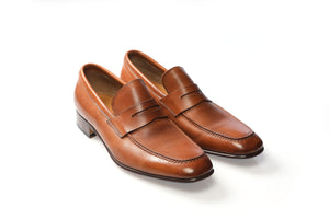 Shoes 100% Leather Brandy