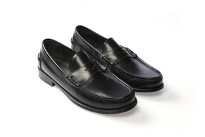 Shoes 100% Leather Kingston Black