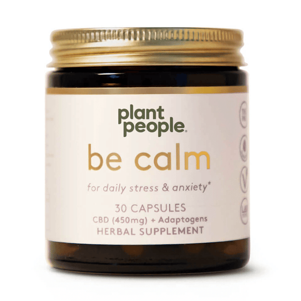 Plant People - Be Calm CBD Capsules 450mg - Default Title - 0