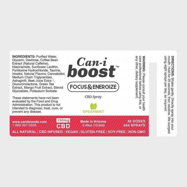 Canibrands - Cani-Boost CBD Oral Spray 150mg - Default Title - 1