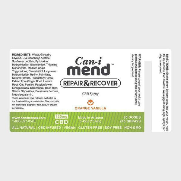 Canibrands - All-Day Oral Spray CBD Bundle - Default Title - 2