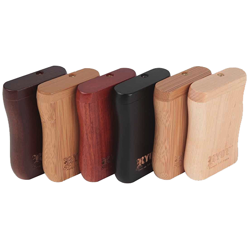 RYOT - Magnetic Wooden Taster Box - Rosewood - 1