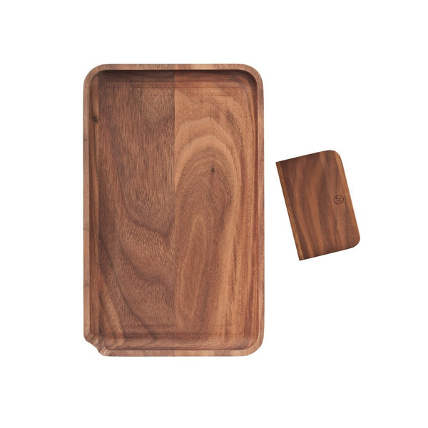 Marley Natural - Wooden Rolling Tray - Small - 0