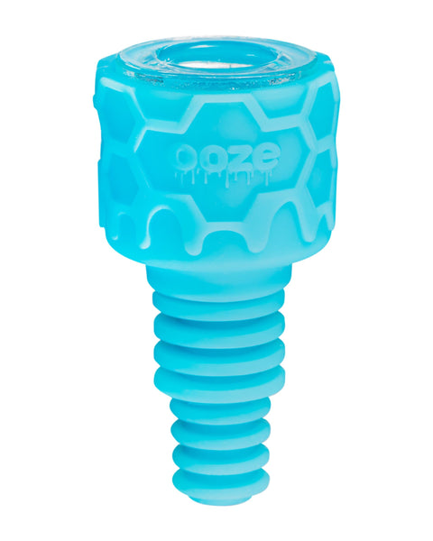 Ooze Armor Silicone Bowl and Mouthpiece Blue