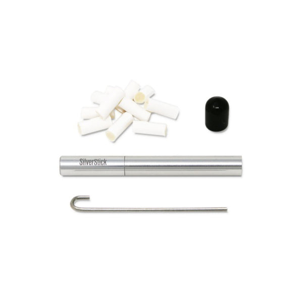 SilverStick - Silver One Hitter Pipe - Large - 1