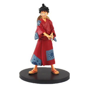 One Piece | Monkey D Luffy, Roronoa Zoro, Vinsmoke Sanji, Usopp and Nami Action Figures