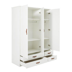 Cool kids 3-doors wardrobe