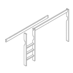 Ladder and parts for bunkbed