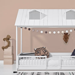 2-in-1 Hut Bed - Beach House