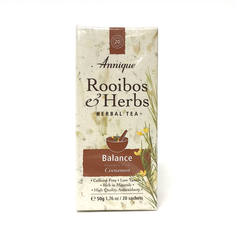 Annique Rooibos Herbal Tea - Balance - 20 Teabags