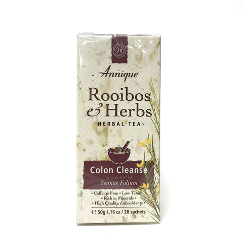 Annique Rooibos Herbal Tea - Colon Cleanse - 20 Teabags