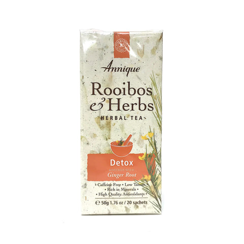 Annique Rooibos Herbal Tea - Detox - 20 Teabags