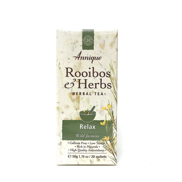 Annique Rooibos Herbal Tea - Relax - 20 Teabags