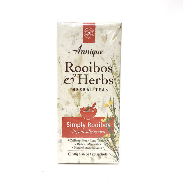 Annique Rooibos Herbal Tea - Simply Rooibos - 20 Teabags