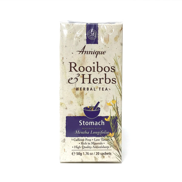 Annique Rooibos Herbal Tea - Stomach - 20 Teabags