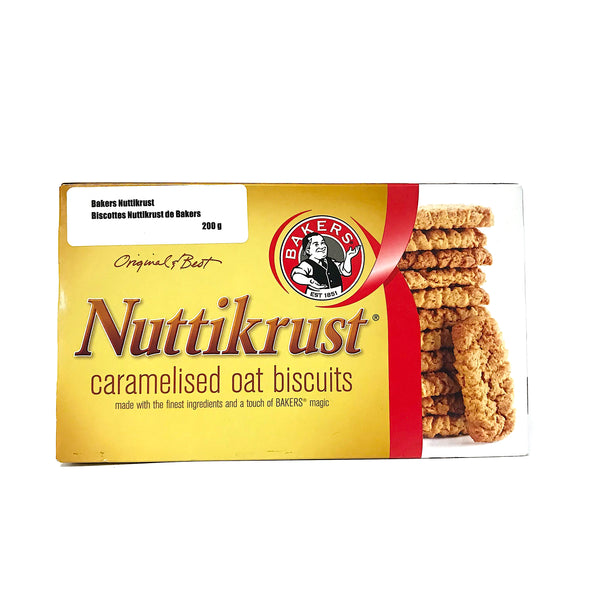 Bakers Nuttikrust Biscuits