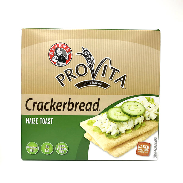 Bakers Provita Oven Baked Crackerbread - Maize Toast