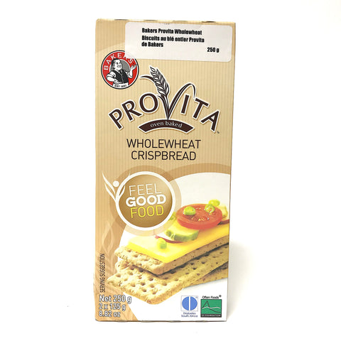 Bakers Provita Wholewheat Crispbread - 250g