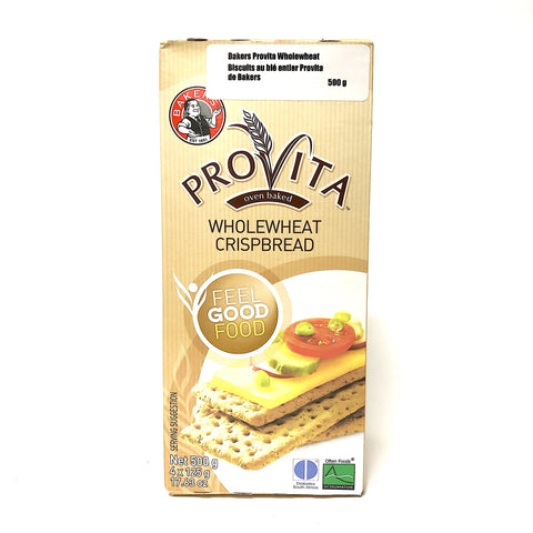 Bakers Provita Wholewheat Crispbread -500g