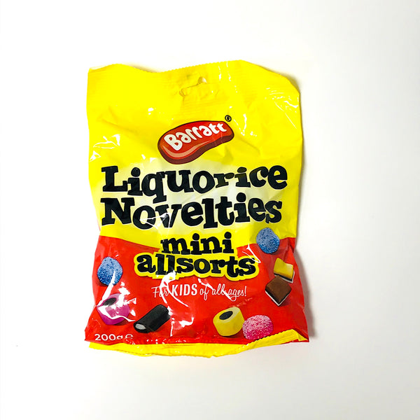 Barratt Liquorice Mini Allsorts