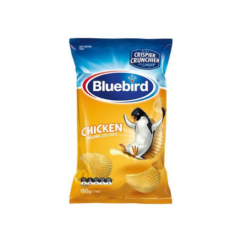 Bluebird Original Potato Chips Chicken Flavour 150g