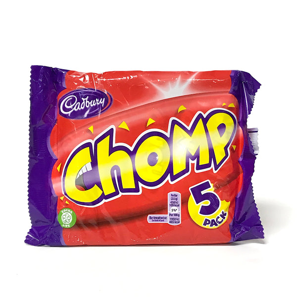 Cadbury Chomp Chocolate Bar - 5 pack