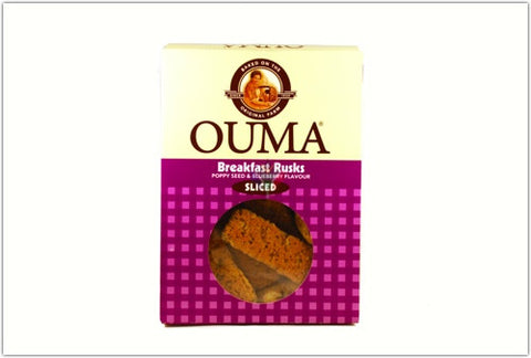 Ouma Breakfast Rusks Poppy Seed and Blueberry