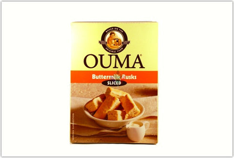 Ouma Buttermilk Rusks Sliced