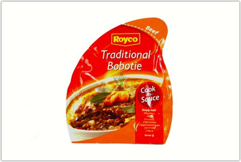 Royco Traditional Bobotie Cook in Sauce