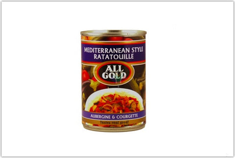 All Gold Mediterranean Style Ratatouille