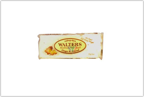 Walters Ginger and Almond Nougat 55g