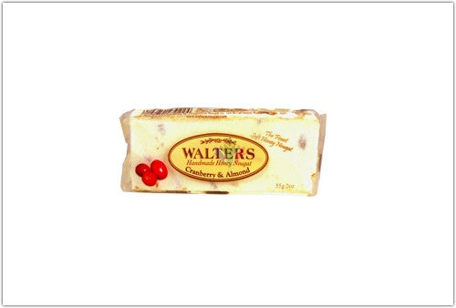 Walters Cranberry and Almond Nougat 55g