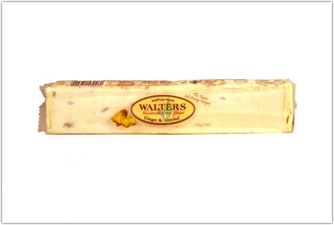 Walters Ginger and Almond Nougat 110g