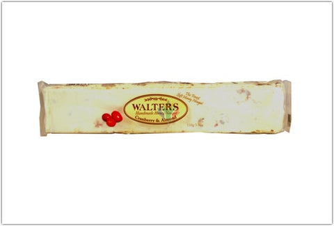 Walters Cranberry and Almond Nougat 110g
