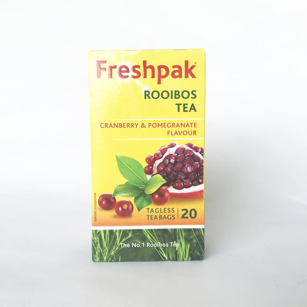 Freshpack Rooibos Tea Cranberry & Pomegranate Flavour