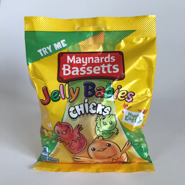 Maynards Bassetts Jelly Babies Chicks Bag