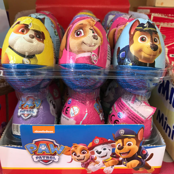 Paw Patrol Easter Egg - Individuals