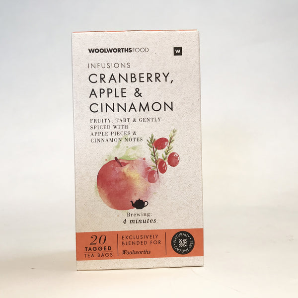 Woolworths Infusions Cranberry, Apple & Cinnamon Tea