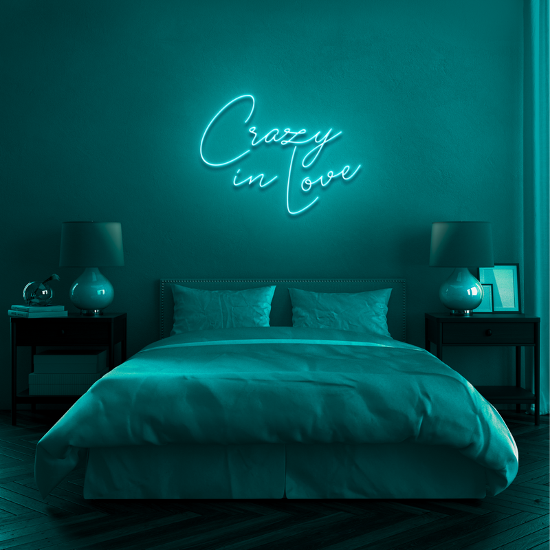 'CRAZY IN LOVE' Neon Sign
