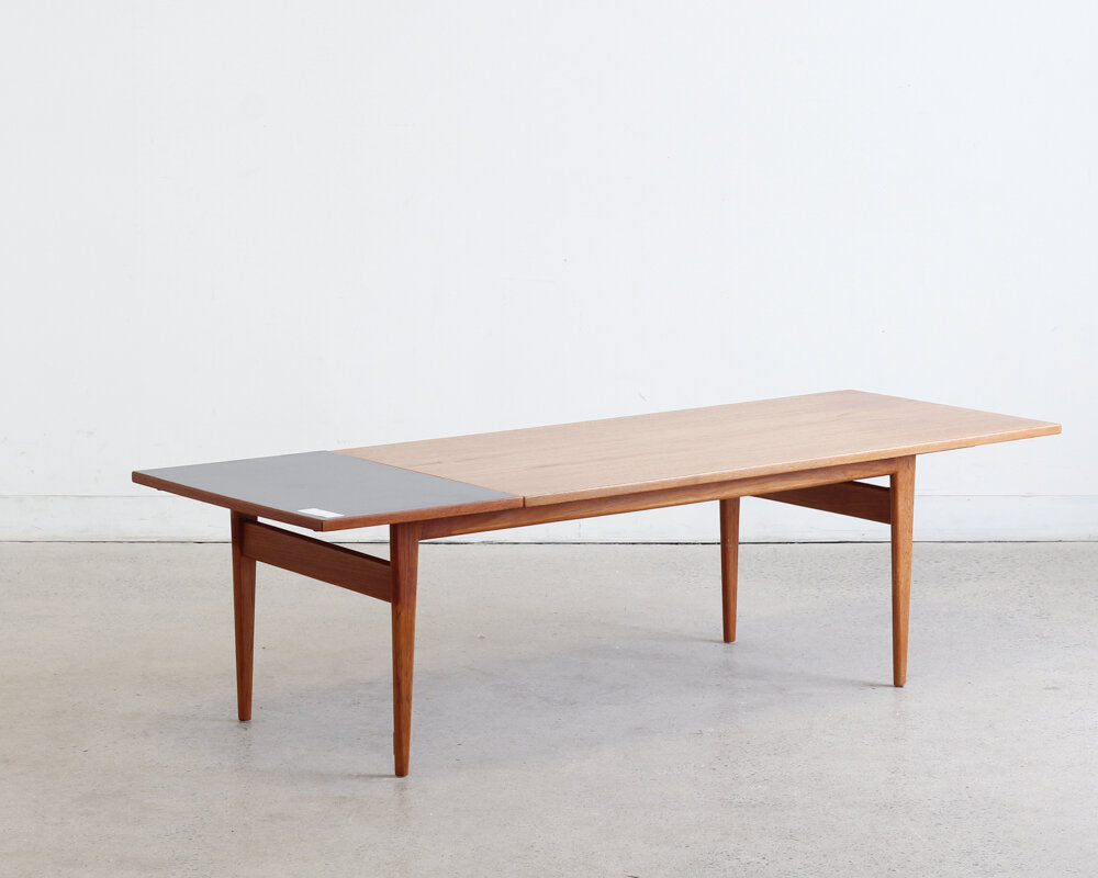 Teak Drop Leaf Coffee Table by George Tanier