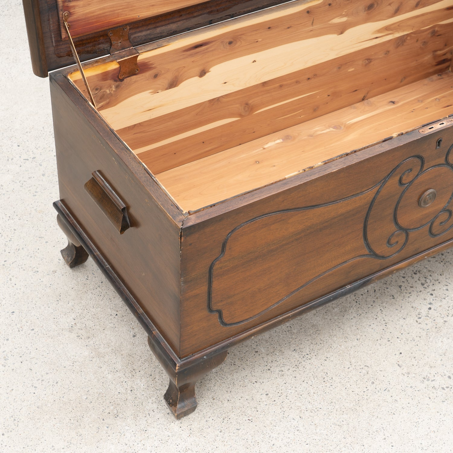 Walnut Blanket Box