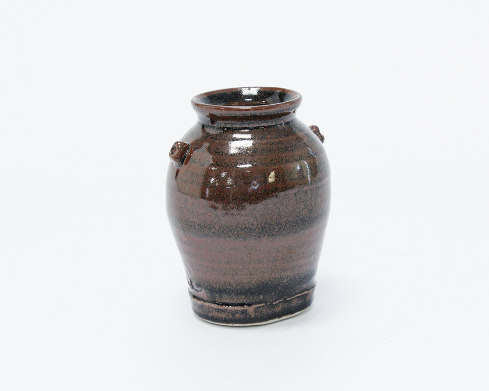 Brown Pottery Vase